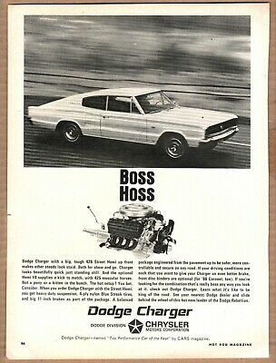 1966 Dodge Charger Ad