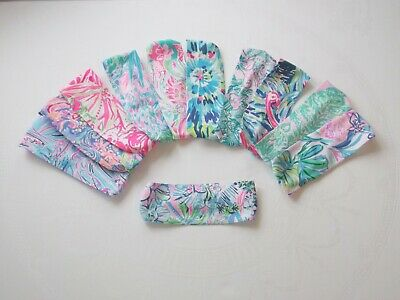 Handmade Preppy Wide Lilly Pulitzer Colorful Fabric Wrap Headband Many Prints