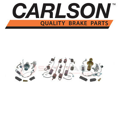 "Complete Rear Brake Drum Hardware Kit for Ford E-250 VAN 1975-2002 w// 2.5/"" Shoe"