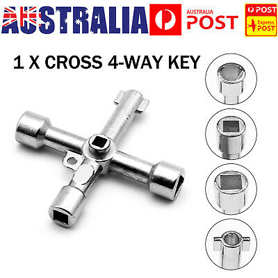 Universal Cross Key Electrical for Train Cabinet Elevator Triangle Square Alloy