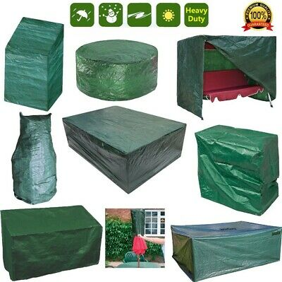 Heavy Duty Waterproof Outdoor Garden Covers Patio Table Chair Rain Protection