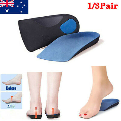 Orthotic Insoles Arch Support Flat Foot Feet High Plantar Fasciitis Pad Insert N
