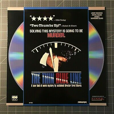The Thin Blue Line Laserdisc - Ld