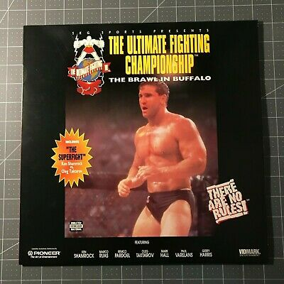 The Ultimate Fighting Championship 7 Laserdisc - Ld