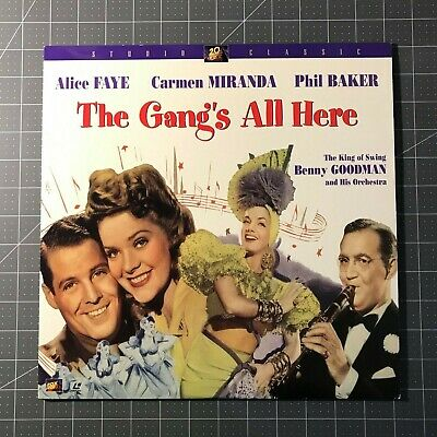 The Gang's All Here Laserdisc - Ld