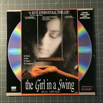 The Girl In A Swing Laserdisc - Ld