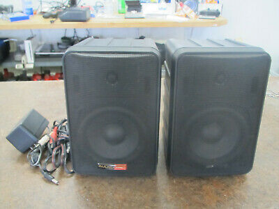 Audix Powered Monitor Speaker Pair PH5-VS w Cables