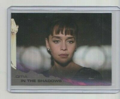 Topps Solo A Star Wars Story Trading Card #85 Emilia Clarke as Qira