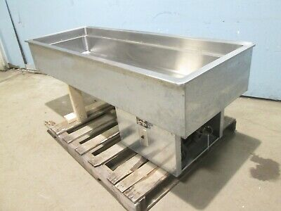 """""""Vollrath"""" Hd Commercial (Nsf) Refrigerated """"Drop-In"""" 5 Pans Cold Well Insert"""