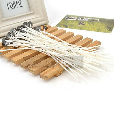Eco-friendly Candle Wicks 8 Inch COTTON Core Candle Making Supplies 20PCS/set