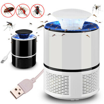 UV Mosquito Killer Lamp LED Travel Light Insect Bug Zapper Bug Fly Pest Control