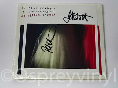 Paul Heaton Jacqui Abbott Signed Crooked Calypso Sealed Cd Beautiful South