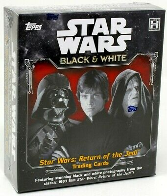 2020 Topps Star Wars Return Of The Jedi Black & White 12 Box Case Blowout Cards