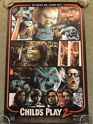 Child's Play 2 Chucky Doll Horror Movie Art Print Poster Mondo Kyle Crawford