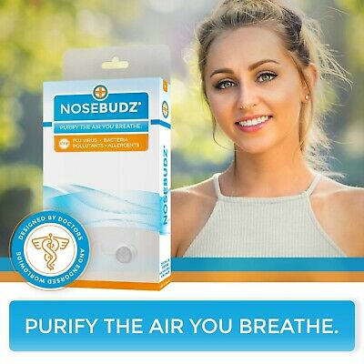 NOSE BUDZ   Illness-preventing air filters   Free Shipping from U.S.