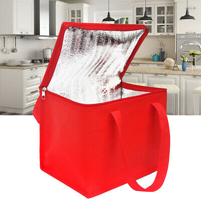 Pizza Food Delivery Bag Insulated Thermal Storage Holder Keep Fresh Picnic New