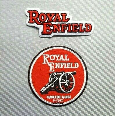 Tissus Bikers anglais Royal Enfield Iron On Patch Rocker vintage moto
