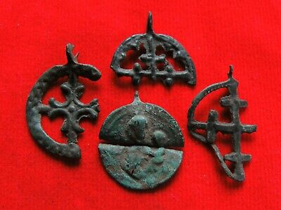 Ancient Bronze Viking Artifacts