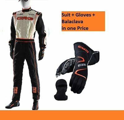New Kart Racing CRG Racing Suit FIA CIK Approved and Karting Gloves with gift