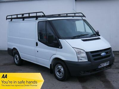 2007 Ford Transit FORD TRANSIT T280 2.2 TDCI SWB LOW TOP ROOF RACK WHITE PANEL V