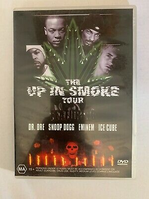 The Up In Smoke Tour DVD - Dr Dre, Eminem, Snoop Dog, Ice Cube - Region Free