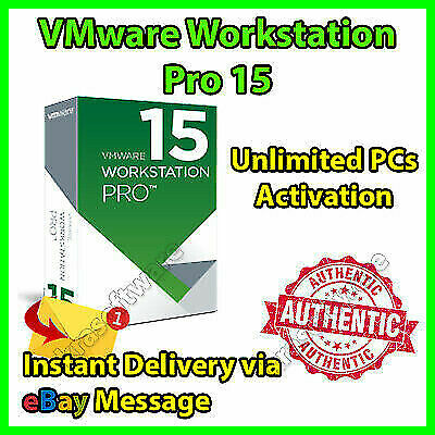 VMware Workstation 15 Pro Full Version✔️ Lifetime 🔑Unlimited PC ✔ Fast Delivery