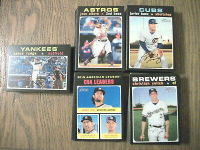 2020 Topps Heritage - Complete Your Set  - Pick 20 Cards From List