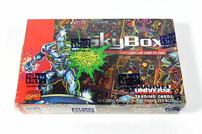 1993 Skybox Marvel Universe Series 4 Trading Card Box Sealed (36 Packs)