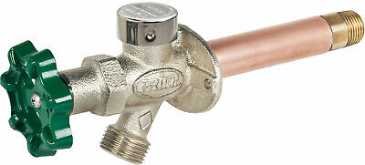 "Prier Products C-144X06 1/2"" Crimp PEX Handle-Operated Freezeless - Nickel"