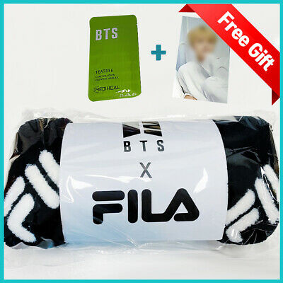 BTS X FILA  Blanket Official Goods + Mediheal Mask Pack, Photo Card Tracking No.