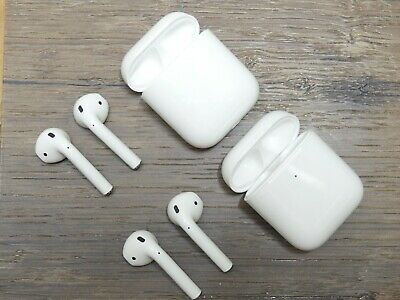Genuine Apple AirPods 2nd Generation Left, Right, Charging Case Replacement Only