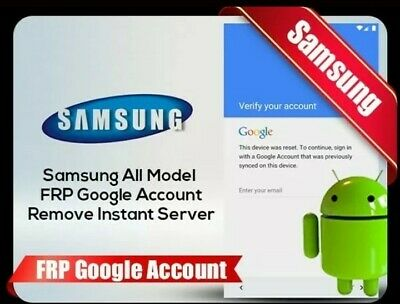 Frp Google Account Removal Samsung A10 A20 A30 A50 Note 10 S10 S9+ S10+  Instant