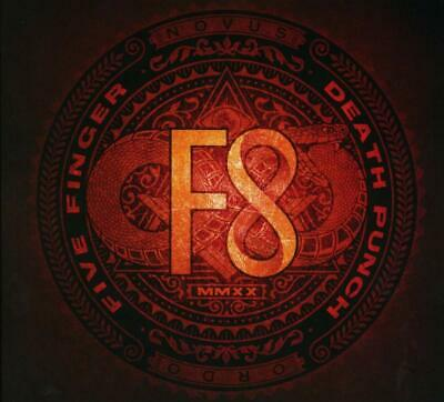 F8 by Five Finger Death Punch Audio CD Discs: 1 Living The Dream 28 feb 2020 NEW