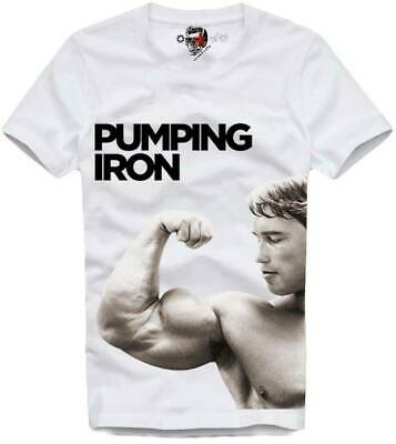 Body building weightlifting shirt USC shirt Arnold Pumping Iron Shirt