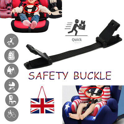 Child Baby Kids Car Safety Seat Strap Chest Clip Buggy Harness Lock Buckle Clip