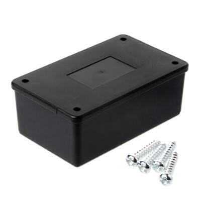 Waterproof 105x64x40mm ABS Plastic Electronic Enclosure Project Box Case Black