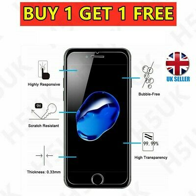 For Apple iPhone 7 Plus Tempered Glass Screen Protector – 100% Genuine