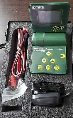 Extech Oyster Series Multifunction Process Calibrator 412400 & Case