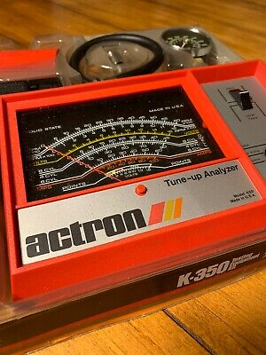 Actron K-350 NOS Testing Equipment Kit L-200 Inductive Timing Light MADE IN USA