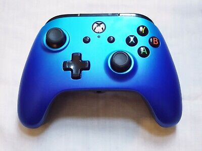 Official PowerA Wired Controller for Xbox One – Blue (Xbox One) + Back Buttons