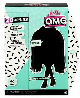 "LOL SURPRISE! OMG *CANDYLICIOUS* 11"" Fashion Doll L.O.L. O.M.G. By MGA Series 2"