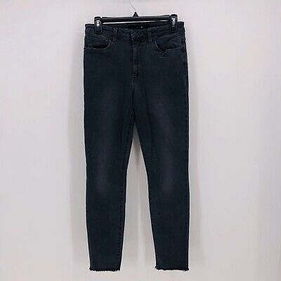 Joes Jeans the Charlie hig rise skinny ankle raw hem gray size 28