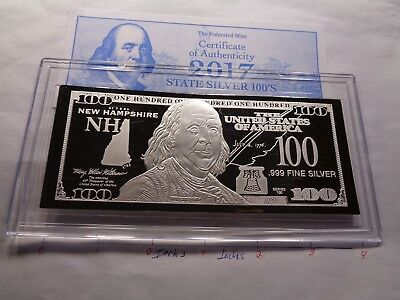 DISCOUNTED $20 TRILLION PROOF 4oz SILVER CURRENCY BAR UNC SOME FLAWS COA