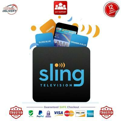SlingTV | Orange & Blue + Extra Sporte | 3 years Warranty Fast Delivery Support