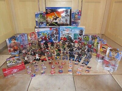 Disney Infinity 3.0 Star Wars Ps4 Starter Pack Playing Without Limits & Figures