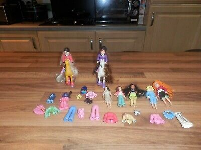 Polly Pocket Horses Dolls and Accessories
