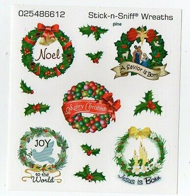 "20 Scratch and Sniff /""Popcorn/"" Christmas Gift Tag Sleeved Sheets Twenty"