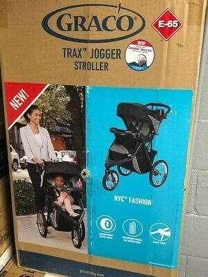 Graco Trax Jogger Click Connect Stroller NYC Baby Best New Run Mom Gift Black
