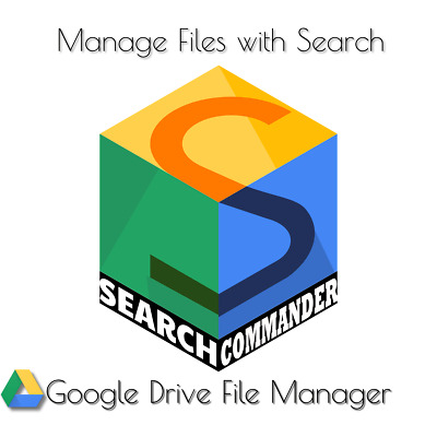 Google Drive File Manager Lifetime Key (Search Commander)