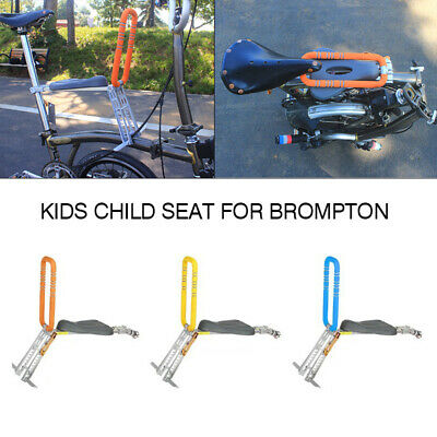 F4 Quick Detachable Kids Child Seat for Brompton Bicycle Folding Bike